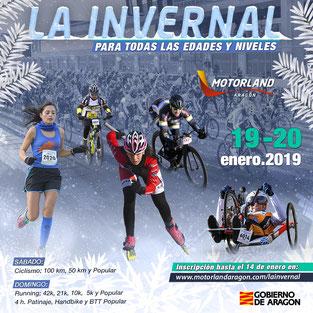 LA INVERNAL 2019 - Alcañiz, 19 y 20-01-2019