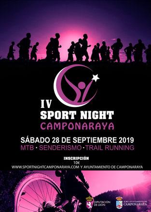 IV SPORT NIGHT CAMPONARAYA - Camponaraya, 28-09-2019
