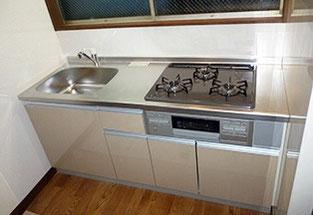 システムキッチンを導入