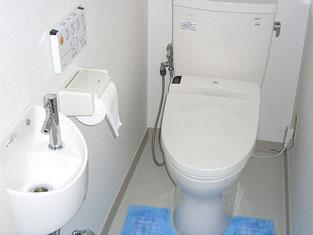 便器を最新の節水型に交換。