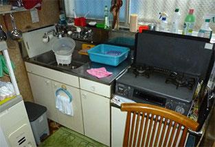 使い慣れたキッチンきれいです。