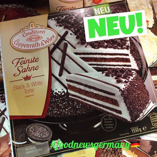 Coppenrath und Wiese Black and White Torte Cookies'n Cream