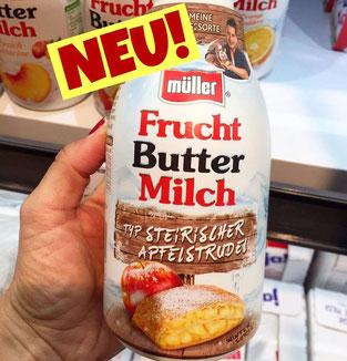 Müller Frucht Buttermilch steirischer Apfelstrudel Andreas Gabalier