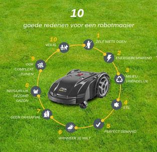 10 goede redenen voor een Stiga robotmaaier