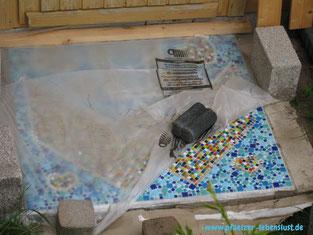 Mosaik selber machen Glasmosaik