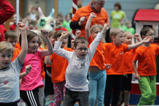 Kindergartensporttag 2015