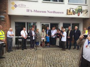 Eröffnung Museumsnacht 17.09.2016