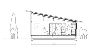 11坪の平屋断面図