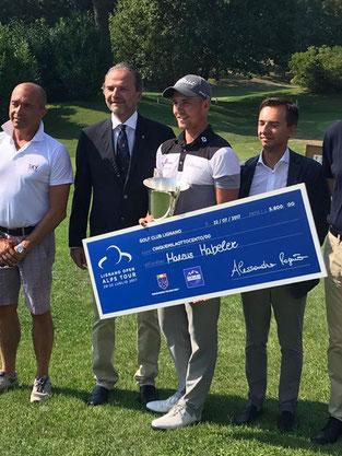 Sieg bei den Lignano-Open auf der Alps-Tour 2017