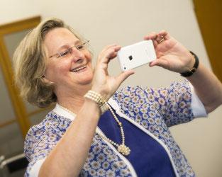 Karin Wurst, Hauswirtschaftslehrerin, ist mit Spargel aufgewachsen und begeisterte Hobbyköchin.