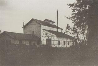 Torffabrik Haspelmoor um 1900
