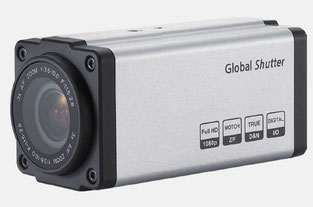 bloc zoom IP global shutter