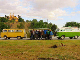 Con All you need is road y una familia de Puebla con quienes subimos al Popocatépetl