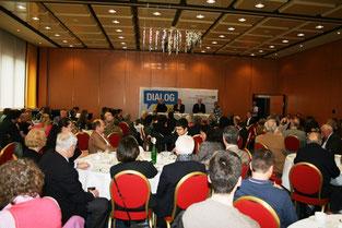 Großer Andrang und rege Beteiligung herrschten bei der Debatte über die Zukunft der Kulturwirtschaft im Ruhrgebiet.