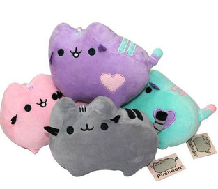 Pusheen in 4 Farben 10cm Chihuahua Hundespielzeug