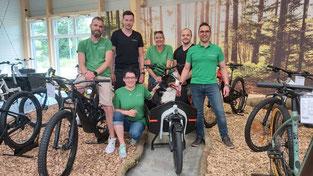 Das Team der e-motion e-Bike Welt Westhausen