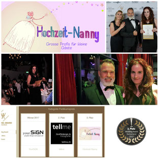 Wedding Award Switzerland 2017 hochzeit-nanny