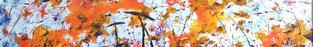 Titre: La Vie c'est du bonbon              Grandeur: 6x36 pouces