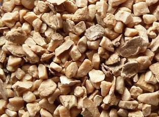Nussschalengranulat, Nussschalenstrahlmittel