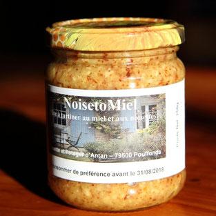 pot de Noisetomiel de miel et goûter d'antan Pays Mellois
