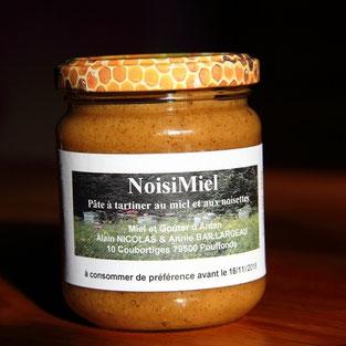 pot de NoisiMiel de miel et goûter d'antan Pays Mellois