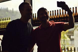 selfie pendant tour de vin