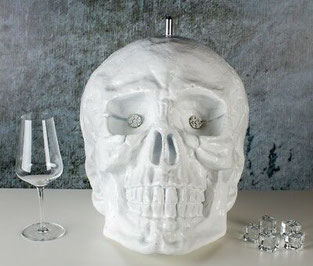 Getränkekühler Totenkopf