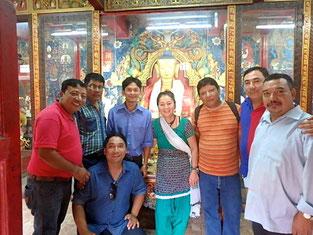 ぜひネパールから日本の皆さんに感謝をしたい、その思いがプジャにつながりました。。