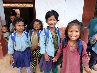 子どもたちの笑顔が何よりの御礼。