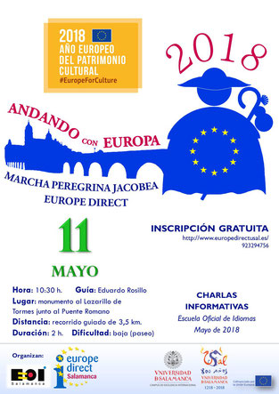 III Marcha peregrina jacobea Europe Direct