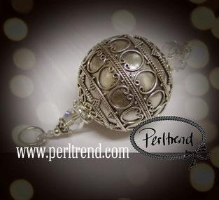 Silber Perlen Anhänger www.perltrend.com