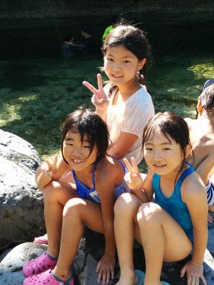 三姫達。日向子は素敵なお姉さんでした。