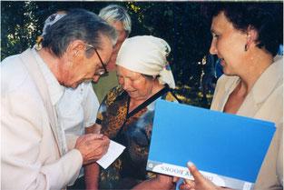 Зустріч із земляками в рідному селі Марківка  на Сумщині