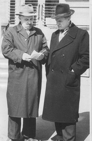 В.Лісняк і П.Ребро м.Запоріжжя, 1960