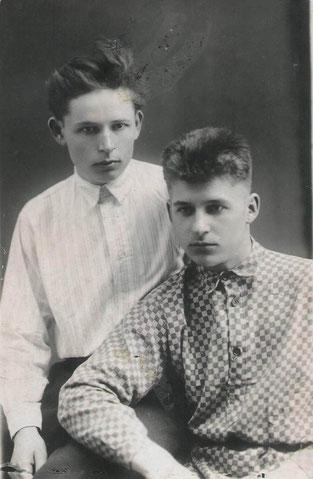 В.Лісняк і М,Гайдабура, 1932