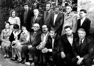 Іван Низовий  на зустрічі літераторів в Луганську