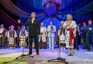 Анатолій Сердюк на Концерті на підтримку воїнів АТО