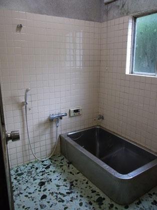 浴室リフォーム前