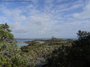 Blick auf Auckland von Rangitoto