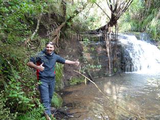 Omeru Wasserfälle