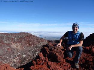 Auf dem Schicksalsberg im Tongariro Nationalpark