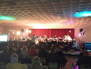 concert avec l'Harmonie de Robecq-Mont-Bernenchon Janvier 2013