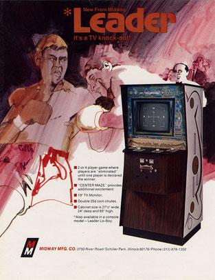 Leader arcade 1973