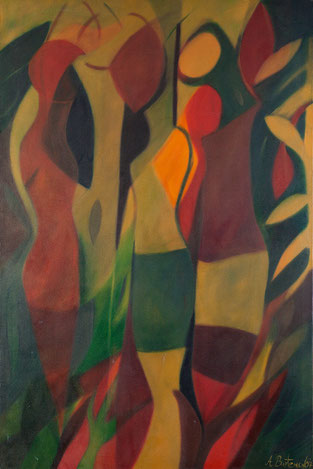 AcandÍ II / Oil on canvas / 59 X 39.3 in / 2007