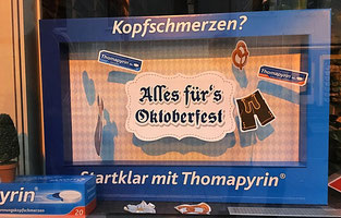 Thomapyrin Wiesn Dekoration