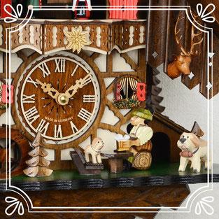 ハト時計 森の時計