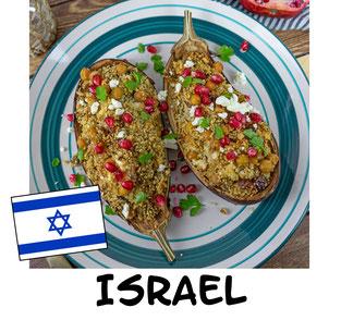 Gefüllte Auberginen aus Israel