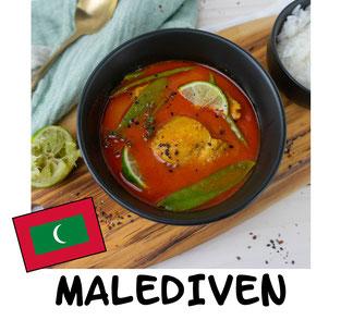 Tuna Curry aus den Malediven