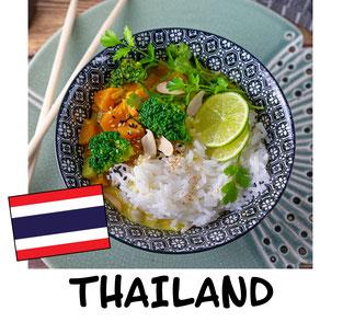 Gemüse Thai Curry