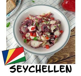 Pulpo Salat aus den Seychellen